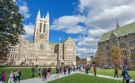 Student perspectives: Stepping into the world of Boston College