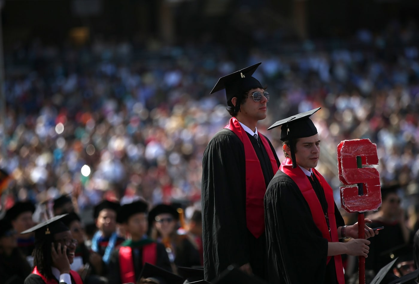 It costs about $74,570 a year to go to Stanford—but Here's How Much Students Actually Pay